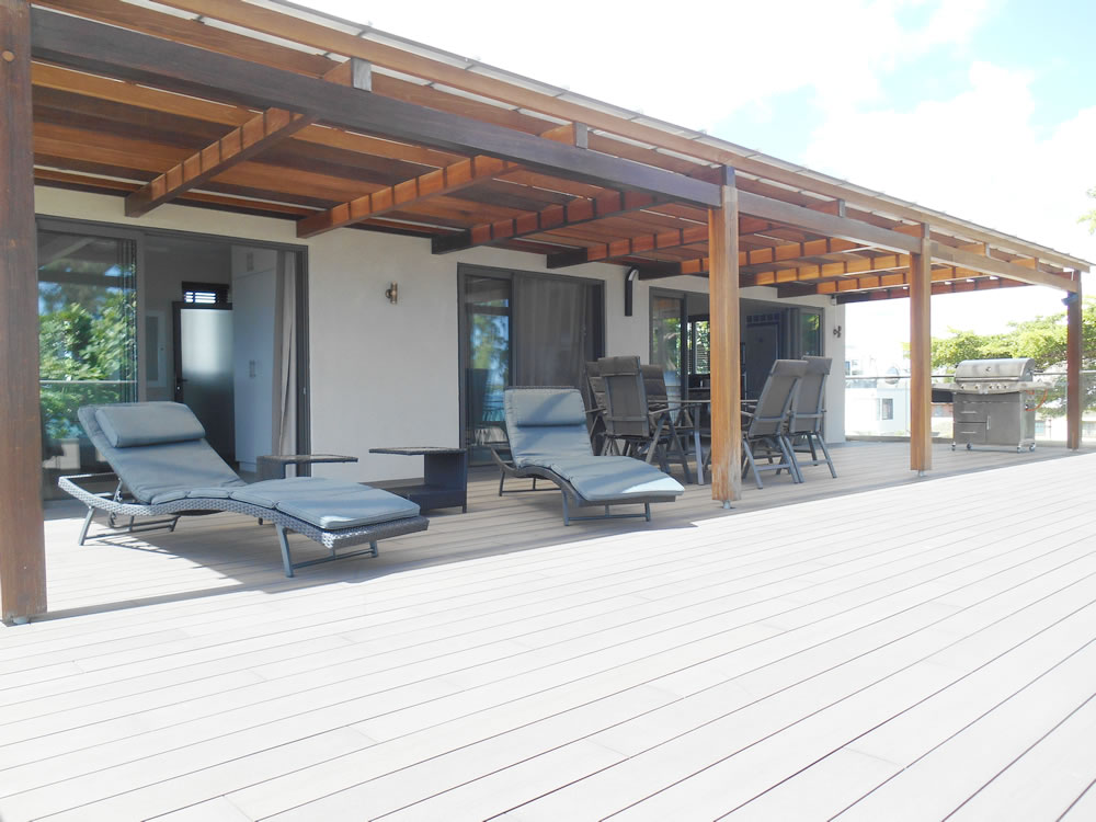 Black Reef Seaview Apartment mauritius photos